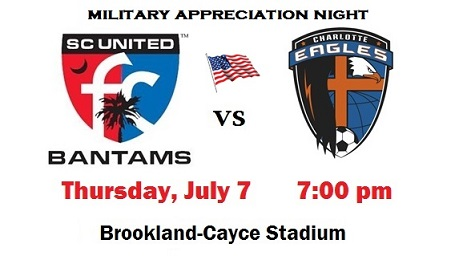 Support the Bantams at Military Appreciation Night!